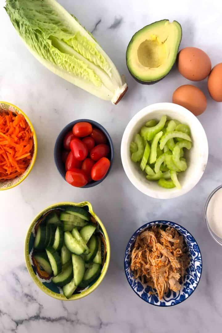 buffalo chicken salad ingredients
