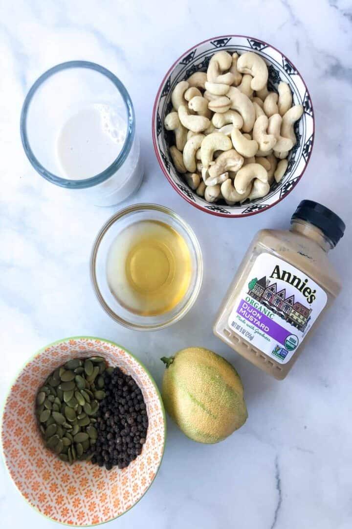 pumpkin seed crema ingredients