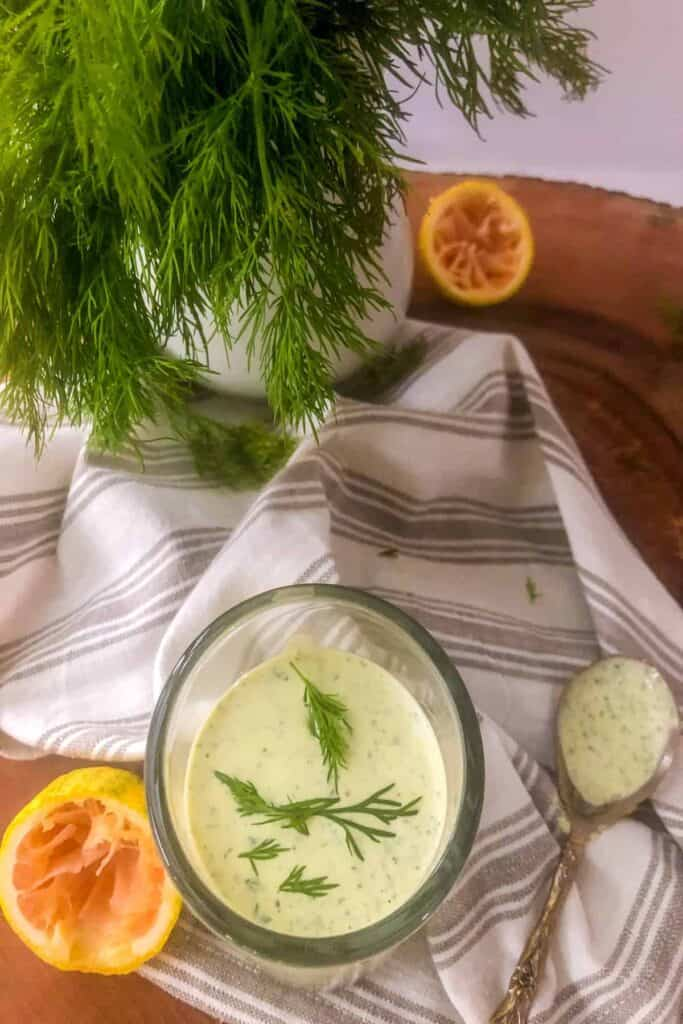 ranch with dill