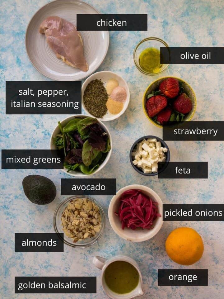 citrus harvest chicken salad ingredients
