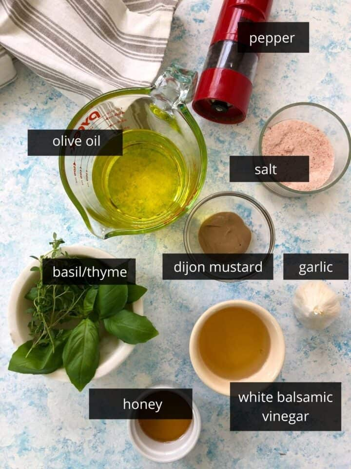 white balsamic dressing ingredients