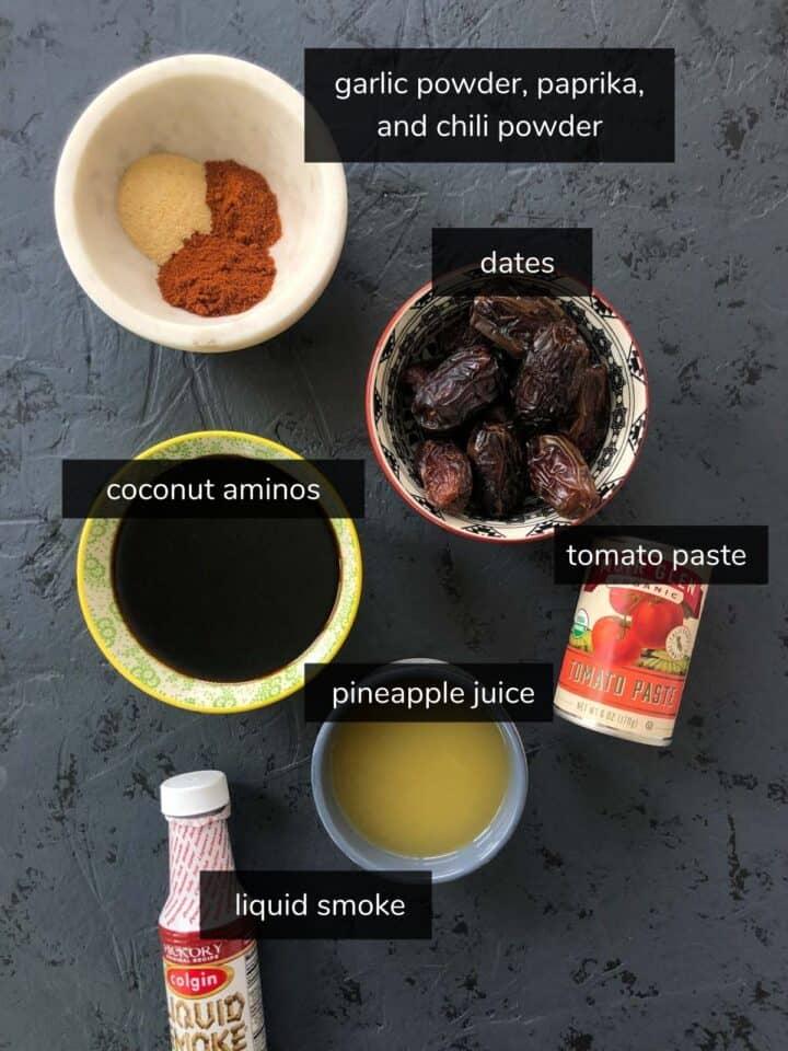 bbq sauce ingredients