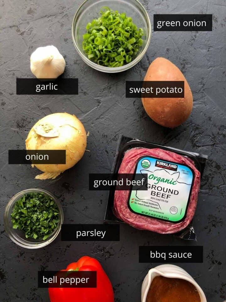 ingredients in sloppy Joe recipe