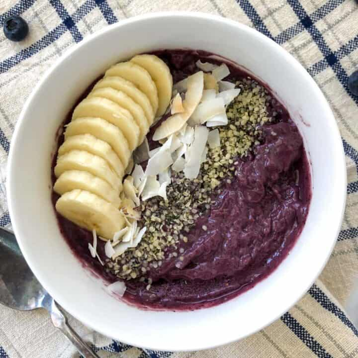 best smoothie bowl recipes with banana