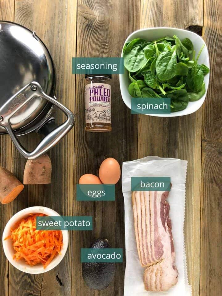 whole30 sweet potato waffle ingredients