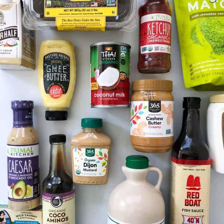 healthy kitchen essentials ingredients