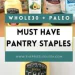 whole30 pantry kitchen essentials